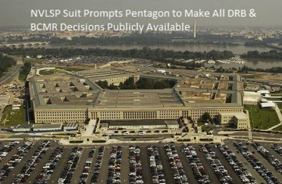 image for Pentagon Agrees to Make BCMR Decisions Public