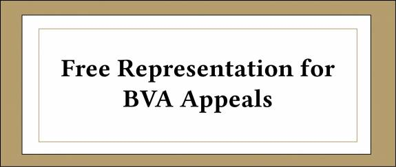 image for Free Representation for BVA Appeals