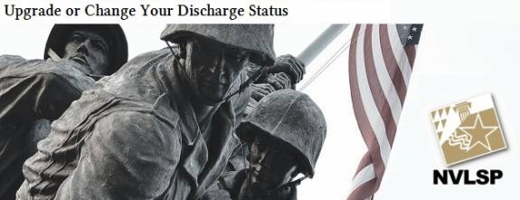 image for Upgrade or Change Your Discharge Status
