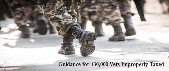 image for Guidance for 130,000 Vets Improperly Taxed