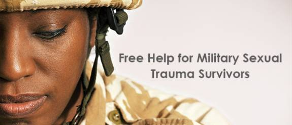 image for Military Sexual Trauma Survivors: Free Help