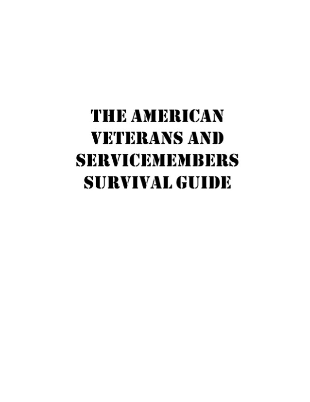 The American Veterans & Servicemembers Survival Guide
